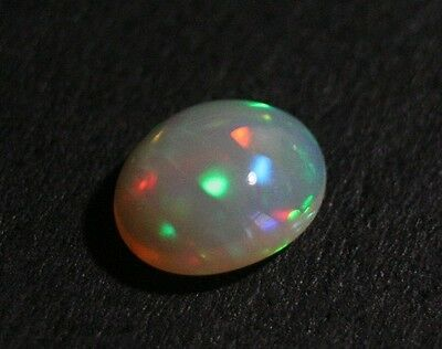 1.42 ct Welo Crystal Opal Cabochon - Rolling Confetti AAA Jelly Opal - See Video