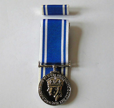 Full Size Police Long Service & Good Conduct Medal - Replacement Copy