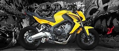 Exhaust Ixil Ixrace Z8 For Honda Cb 650 F Rc75 2014 - 2015 Slip On System