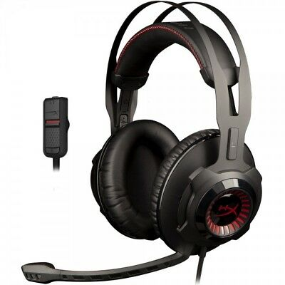 HyperX Cloud Revolver Gaming Headset for PC & PS4 (HX-HSCR-BKRC) [RE-CERTIFIED]