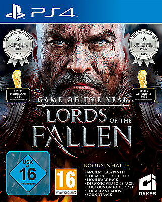 SONY PS4 Lords of the Fallen GOTY Game of the Year Edition PlayStation 4 OVP TOP