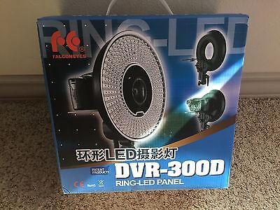FalconEyes Falcon Eyes DVR-300DVC Dimmable 300-LED Ring Panel Video Light