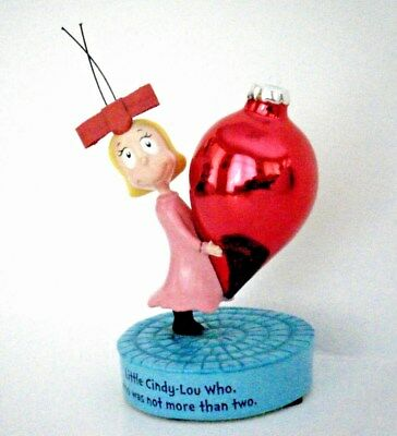 Hallmark Dr. Seuss Cindy-Lou Who Porcelain Figurine Collector Numbered Edition