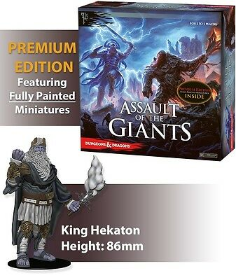 D&D Boardgame Assault of the Giants Premium Edition