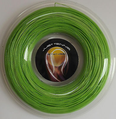 OCTAGONAL TWISTED CO-POLY TENNIS STRING 1.28mm (16 / 8.5) x 200m Reel GREEN