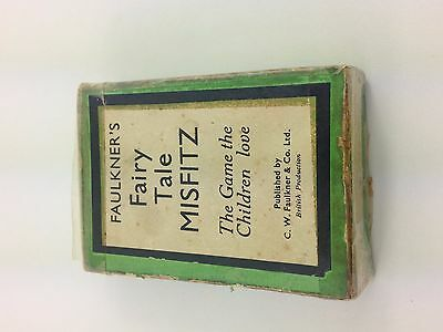 Vintage Fairy Tale Misfitz card game CW Faulkner
