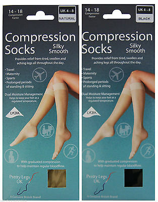 Travel Maternity Sports Silky Smooth Compression Socks Amazing Comfort