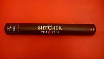 The Witcher: Wild Hunt Original poster + box - Limited Edition !!! Very Rare !!