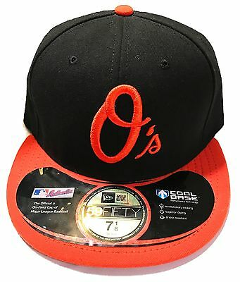 huge discount 721d6 4f2a9 Baltimore Orioles Mlb Newera Fitted 59Fify Hat Cap On Field New Era Cool  Base
