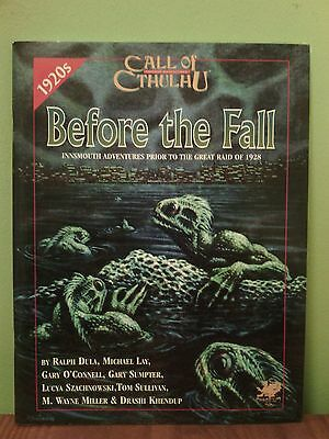 Before the Fall (Call of Cthulhu 1920s) | Innsmouth Adventures | Chaosium 2377