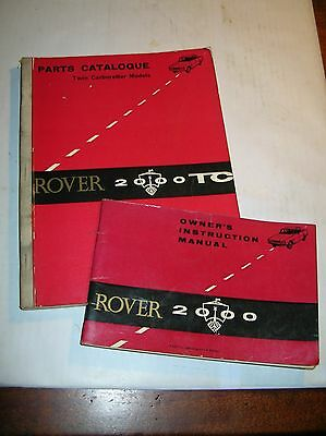 FairROVER 2000 OWNERS INSTRUCTION MANUAL