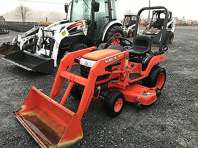 2004 Kubota BX1500 4x4 Compact Tractor w/ Loader & Mower!