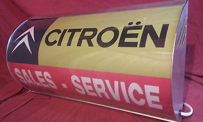 citroen,2cv,dyane,ds,sm,cx,bx,gs,h-van,light up,sign,mancave,vintage style,