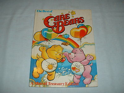 CARE BEARS RARE Vintage Best Of Marvel Treasury Edition Annual Book (1986/COMIC)