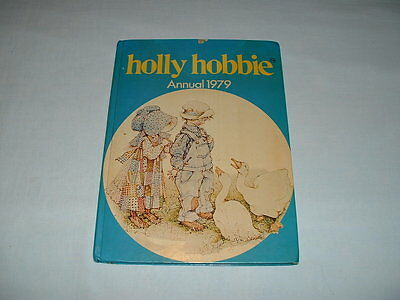 HOLLY HOBBIE RARE Vintage 1979 Annual Story Book (RAGDOLL/CLOTH/DOLL/A-Z/RETRO)