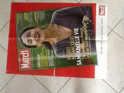 collector affiche paris match grand format INGRID BETANCOURT Port Gratuit