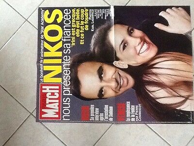 collector affiche paris match grand format NIKOS TF1 Port Gratuit