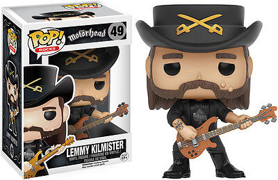 Lemmy Kilmister - Funko Pop! Rocks (2016, Toy NEU)