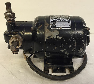 Used Bodine Electric Co. NSI-12R Speed Reducer Motor 1/60 HP - Working