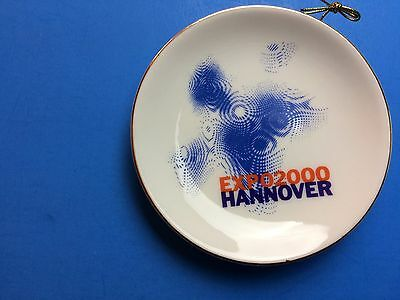 EXPO 2000 Hannover  small hanging plate 4 inch  plate