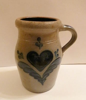 Cambridge Wisconsin Pottery ROWE Art Pottery LARGE PITCHER 1989
