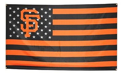 San Francisco SF Giants Flag 3x5 Banner MLB Stars and Stripes Poster