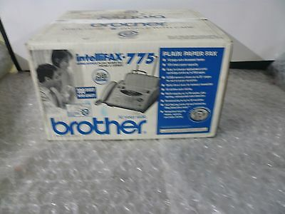 Brother Intellifax 775 Plain Paper Fax with Phone and Copier new in a box