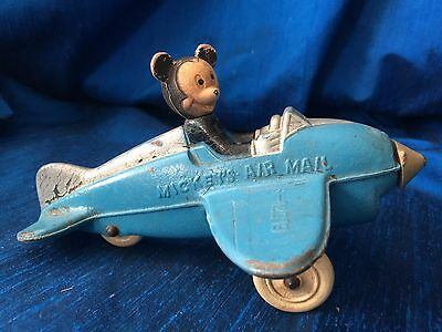 Mickey Mouse Mickey's Air Mail, Sun Rubber, Cool Vintage Disney Toy, Vintage