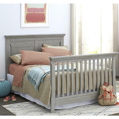 Baby Cache Overland Full Size Bed Conversion Kit - Ash Gray