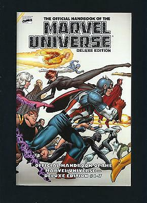Essential Official Handbook of the Marvel Universe Vol 1 - TPB graphic novel