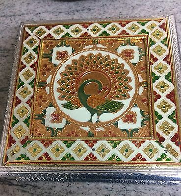 Early 20th Century Chinese Box With A Peacock . C.1920s