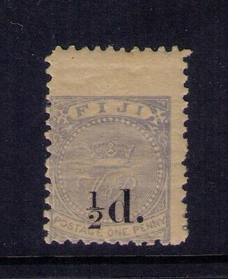 FIJI STAMP ,SURCHARGED SC# 49 MH OG ,Cat. $62.50
