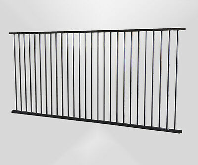 Pool Fence Aluminium Certified Flat Top or Garden Fence. Australian company