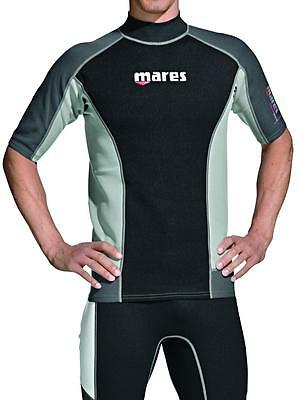 Mares Rash Guard Top - Mens Short Sleeve-XXL for Water Sports