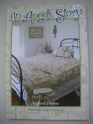 An Angels Story - Anni Downs - Quilting Patchwork Embroidery Pattern Book