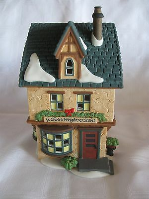 Dept 56 Dickens' Village Series  G. Choirs Weights And Scales #58301