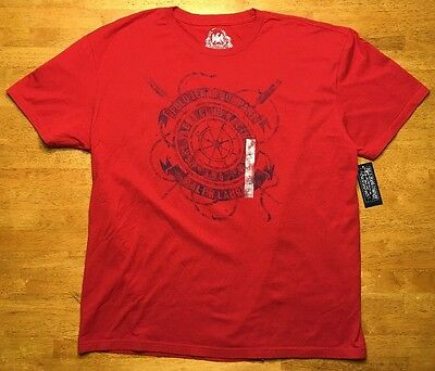NWT Ralph Lauren Polo Jeans Men's Red Short Sleeve T-Shirt - Size: Large - Cute!
