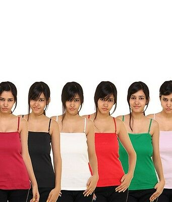 Jockey Women Camisole all Style (Multicolor) PACK OF 5 Express shipping.