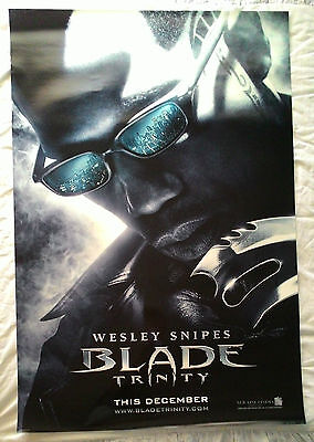 Lot of 6 Wesley Snipes Original US One Sheet Movie Posters - Blade