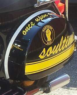 Northern Soul Decal Sticker Choice Of Colour Vespa Lambretta Style Mod Body Kit