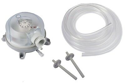 Adjustable Air Differential Pressure Switch for Filter , Air conditioner
