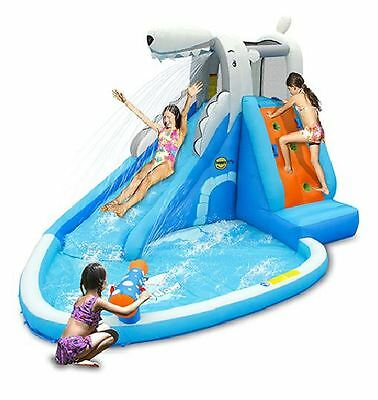 Waterslide Park Kids Outdoor Jumper Toy Inflatable Pool Bouncer house