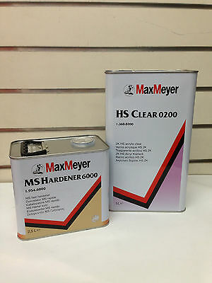 Max Meyer 0200 7.5L Lacquer Kit