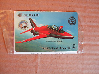 RED ARROWS HAWK RAF Mildenhall Fete 1996 Mint // Sealed