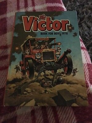 The Victor Book For Boys Annual 1978 - Very Fine Plus