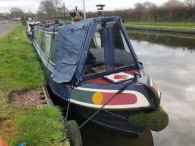 Life o Reilly - 37ft cruiser stern narrowboat