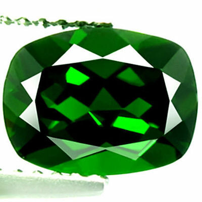 0.90Ct BEWITCHING Gem - Best Natural Russian Emerald - Chrome GREEN DOPSIDE US90