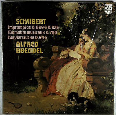 SEALED PHILIPS BOX Schubert - Alfred Brendel – Impromptus - Moments Musicaux