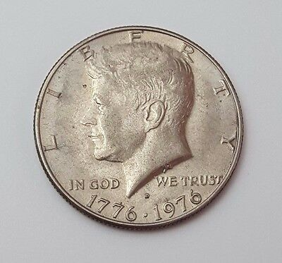U.s.a - Dated 1976 - Kennedy - Half Dollar Coin - American Coin