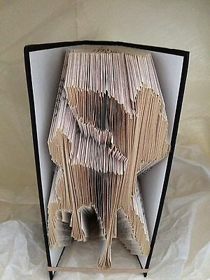 Book folding Disney PATTERNS Bambi folded book pattern only
